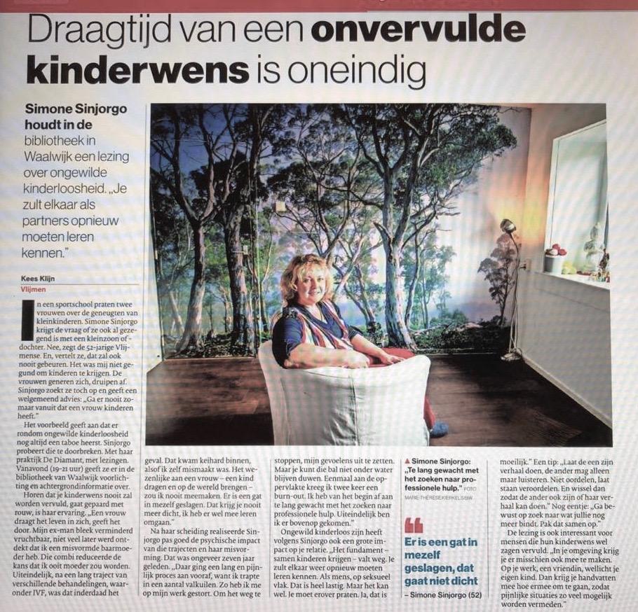 Simone Sinjorgo - Brabants Dagblad