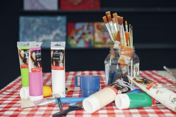 Schilderen Simone Sinjorgo
