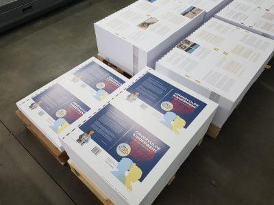 Boek Onvervulde kinderwens - drukwerk proces (Simone Sinjorgo - Praktijk de Diamant)