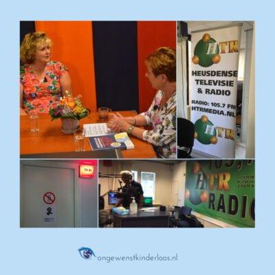 Heusdense tv & radio interview Simone Sinjorgo ongewenstkinderloos.nl