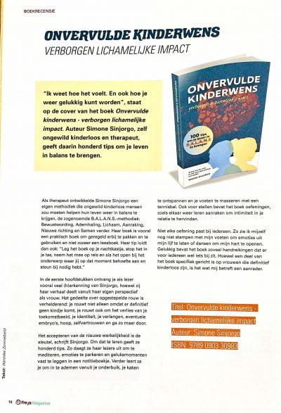 Boekrecensie Freya Magazine