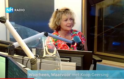 Radio NH interview Koop Geersing Simone Sinjorgo